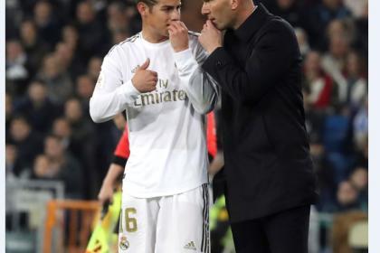 Día gris de James: primer cambio y otro tren perdido en Real Madrid