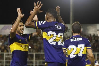 Villa sigue prendido: así fue su gol en el triunfo de Boca Juniors