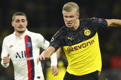 No diga gol, diga Haaland: así le ganó Borussia Dortmund 2-1 al PSG