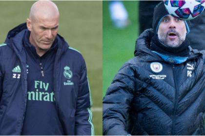 Guardiola reta a Zidane en M. City vs Real Madrid: ¡bendita ...