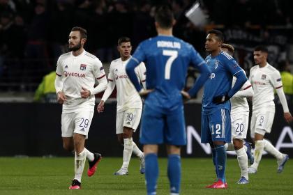 Lyon sorprendió a la 'bestia' en Champions: derrotó 1-0 a Juventus