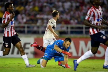 Junior decepciona: los detalles en los que Flamengo mostró jerarquía