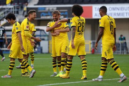 Borussia goleó y se mantiene en la pelea: 1-6 sobre el Paderborn