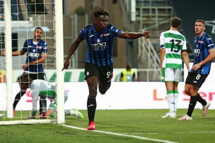 Doblete Duván y minutos para Muriel: Atalanta goleó a Sassuolo