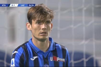 Un taponazo... pero en propia puerta: vea el autogol de Atalanta-Lazio