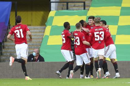 ¡Volvió la FA Cup! Manchester United sufrió pero avanzó a semifinales