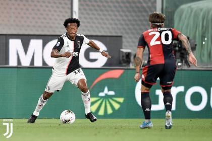 Cuadrado impecable con Juventus en la victoria contundente sobre ...