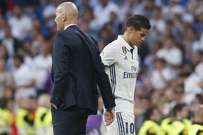 Sentencia de Real Madrid a James: el equipo más interesado en ...