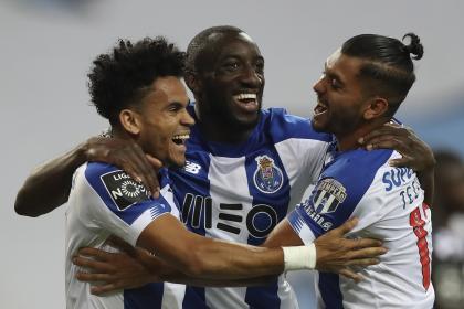 Con gol y gran actuación de 'Lucho' Díaz: Porto goleó al Moreirense