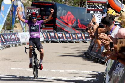 Colombiano Iván Ramiro Sosa ganó la última etapa de la Vuelta ...