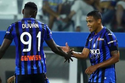 ¡'Colombian power'! Zapata y Muriel impulsaron goleada de Atalanta