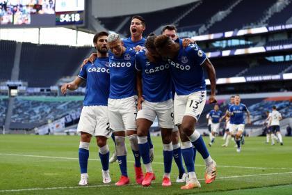 Mané castiga primero en el clásico Everton-Liverpool: gol al minuto 3