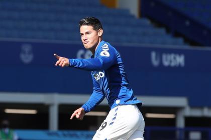 James y un retador octubre: así será su mes con Everton y la ...
