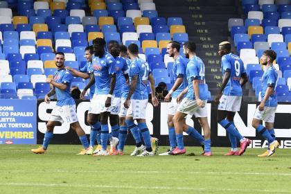 Napoli golea al Atalanta: vea acá todas las anotaciones EN VIVO