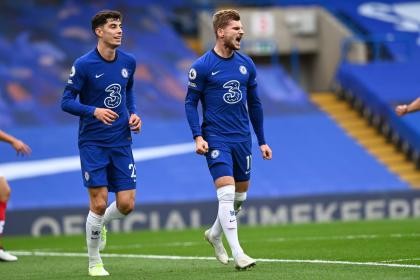 ¡Timo Werner on-fire! Golazos con el Chelsea frente a Southampton