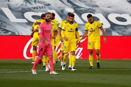 Espantosa presentación del Real Madrid: sin ideas perdió 0-1 con ...