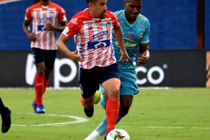 Junior aplazó su clasificación en la Liga: empató 2-2 con Jaguares