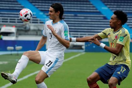 Colombia sucumbió contra Uruguay: así fue la derrota 0-3