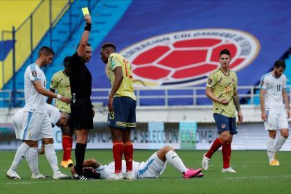 En Inglaterra retratan la derrota de Colombia: hablan de James y Mina