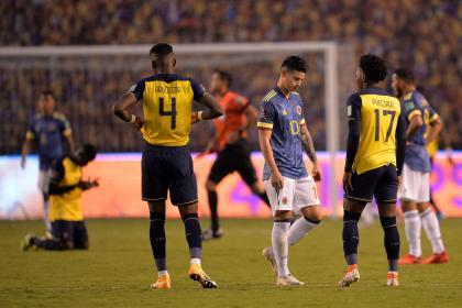 Así estaba Colombia en la fecha 4 de las Eliminatorias pasadas