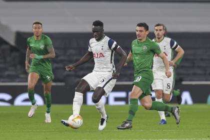 Con Dávinson Sánchez en cancha, Tottenham goleó al Ludogorets ...