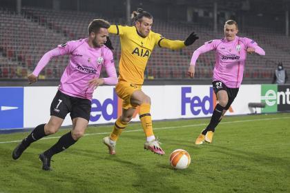 ¡Se mataron a goles! Vibrante empate de LASK y Tottenham, con ...