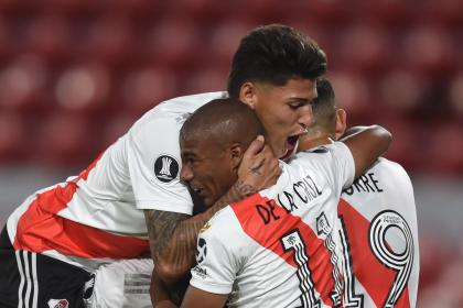 Carrascal y Borré titulares: alineaciones de River vs Palmeiras