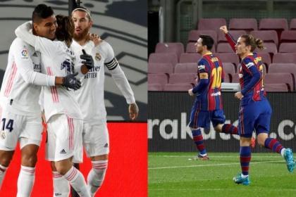 Real Madrid y Barcelona ganaron, los líderes cedieron: así está ...
