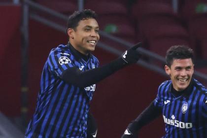 Muriel es titular y Zapata, suplente: siga EN VIVO Atalanta vs Spezia