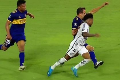 ¡Con 3 colombianos! Así formará Boca Juniors para enfrentar a Santos