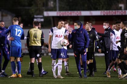 No importó perder con Tottenham: Marine FC disfrutó e hizo historia