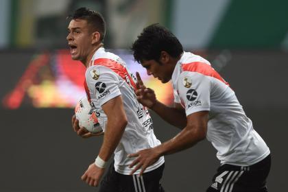 Borré anotó, pero no le alcanzó a River: vea los goles vs Palmeiras