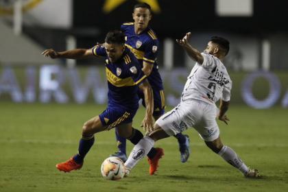 Llora Argentina: debacle de Boca contra Santos y adiós a ...