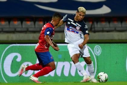¡Teo se reporta en la Liga! Vea el primer gol de Junior vs Medellín