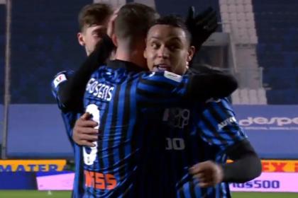 Qué noche la de Muriel en Copa Italia: gol y asistencia para Atalanta
