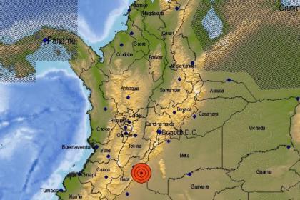 Fuerte temblor en Colombia se sintió en Bogotá: magnitud y epicentro