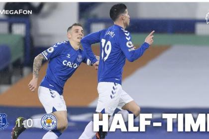 El balance de James en Everton vs Leicester: golazo y sacrificio