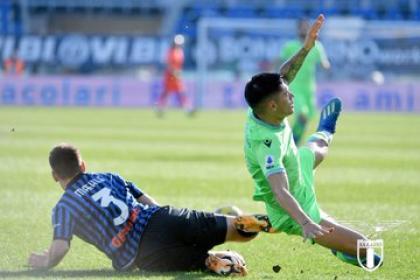 ¡Nublado Atalanta! Zapata y Muriel, sin peso en derrota contra Lazio