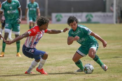 Se acabó el invicto de Junior: Equidad le ganó 1-0 en la Liga BetPlay
