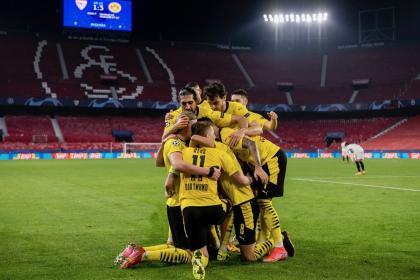 ¡Con la ventaja a casa! Borussia Dortmund superó de visita al Sevilla