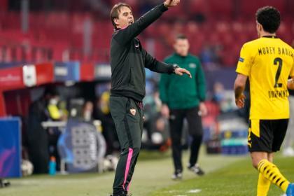 Lopetegui confía en que Sevilla ganará en Dortmund: 'queda la vuelta'