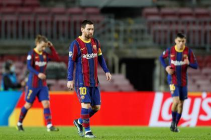 Otra vez no alcanzó con Messi: llueven críticas sobre FC Barcelona