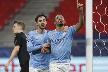 ¿Serie liquidada? Manchester City venció 0-2 al Gladbach en ...