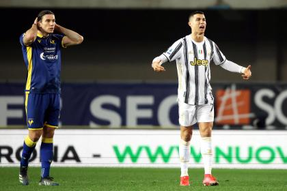 El gol de Cristiano no bastó: amargo empate de Juventus contra ...