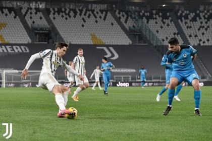 Raro pero cierto: Juventus goleó a Spezia pero le tocó trabajar duro