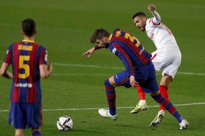 ¡Alerta en Barcelona! Piqué se perdería la vuelta con PSG en ...