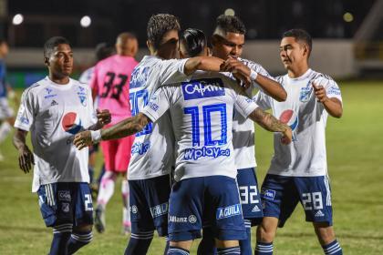 Millonarios se sacudió en la Liga: polémico triunfo 0-1 sobre Chicó