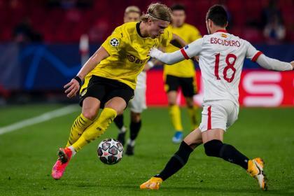 Batalla en la Champions por un cupo a cuartos: Dortmund vs. Sevilla