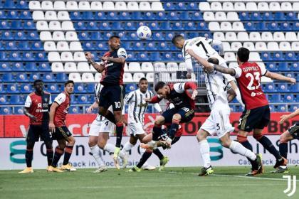 Cristiano, ¿que no rindes en Juventus? ¡Triplete con pase de ...