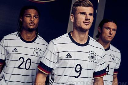 Así es la nueva camiseta visitante de Alemania: el negro sale con todo